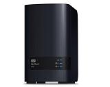 NAS WD, Diskless, 2 Bay, Processor 1.2 GHz, 512 MB DDR3, WDBVKW0000NCH