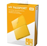HDD extern WD My Passport Ultra NEW 1TB, 2.5, galben