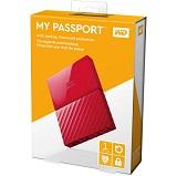 HDD extern WD My Passport Ultra NEW 1TB, 2.5, rosu