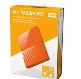 HDD extern WD My Passport Ultra NEW 1TB, 2.5, portocaliu