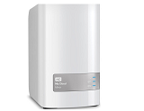 Storage WD,  6TB, Dual-drive storage, Mirrored data protection